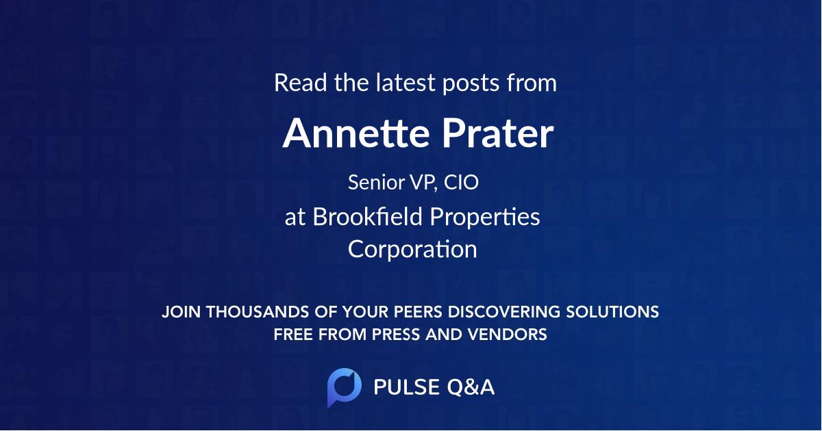 Annette Prater