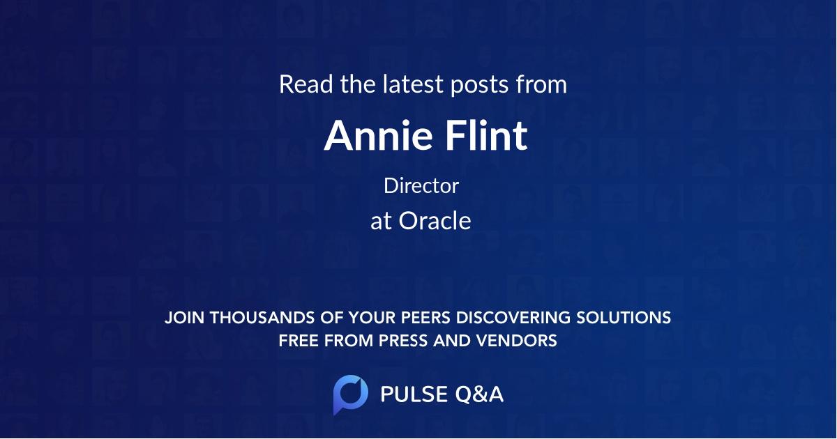 Annie Flint