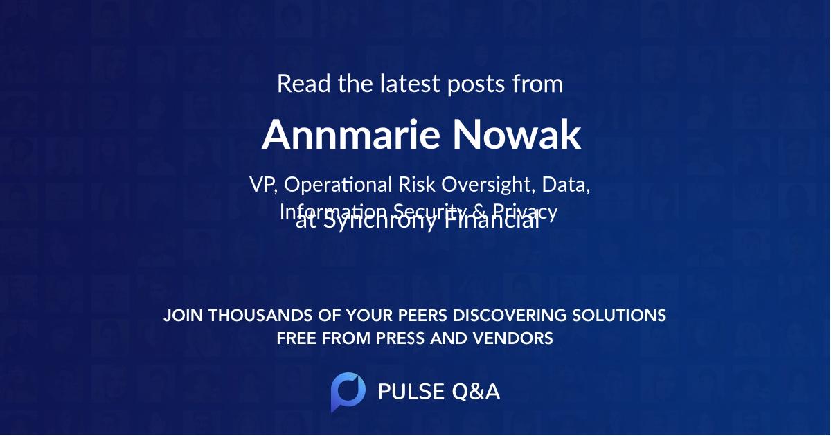 Annmarie Nowak