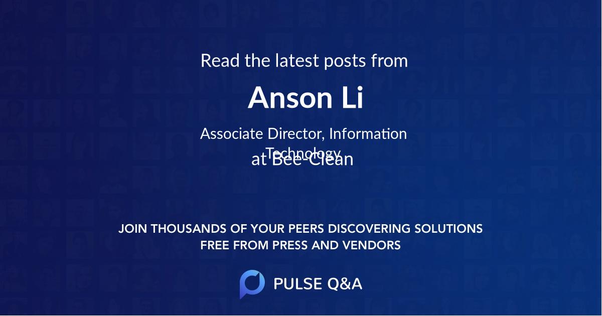 Anson Li