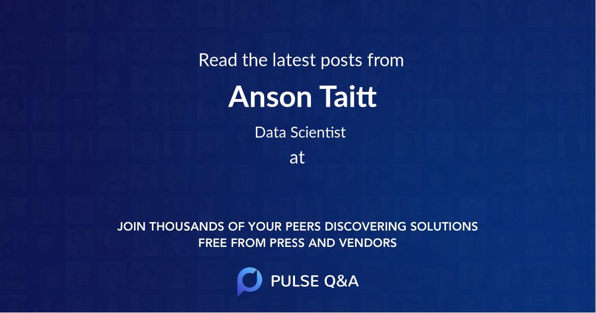 Anson Taitt