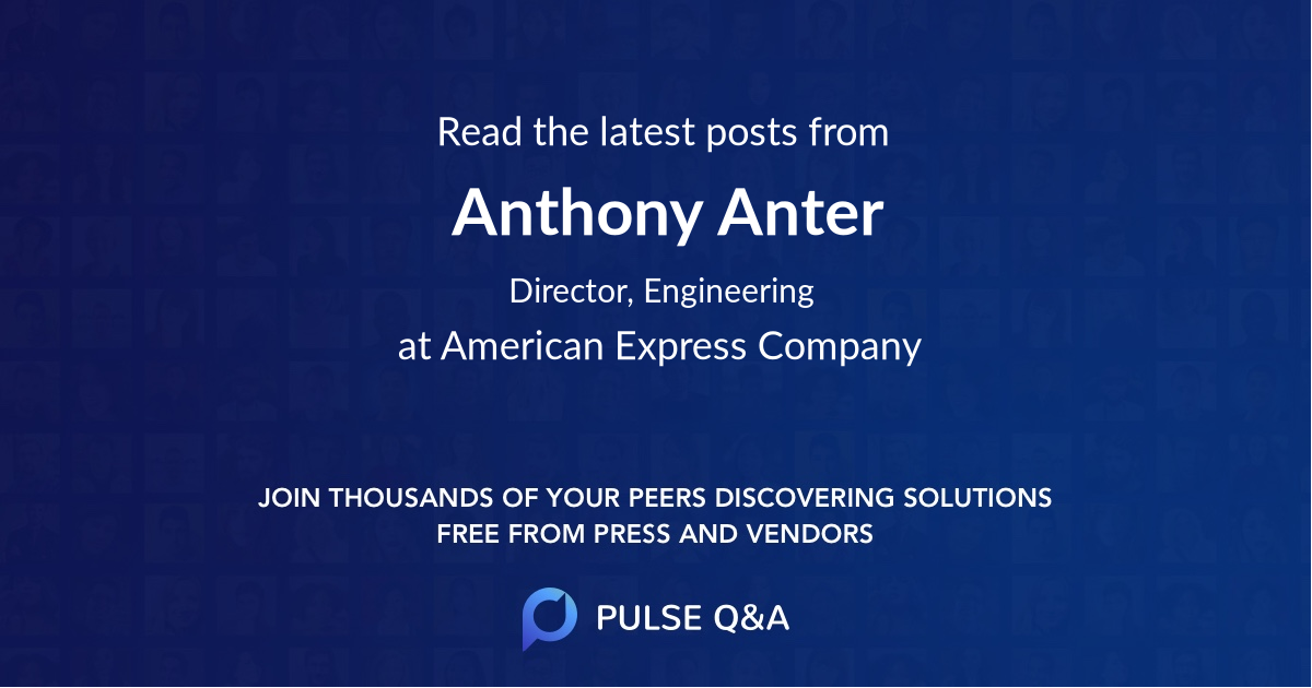 Anthony Anter