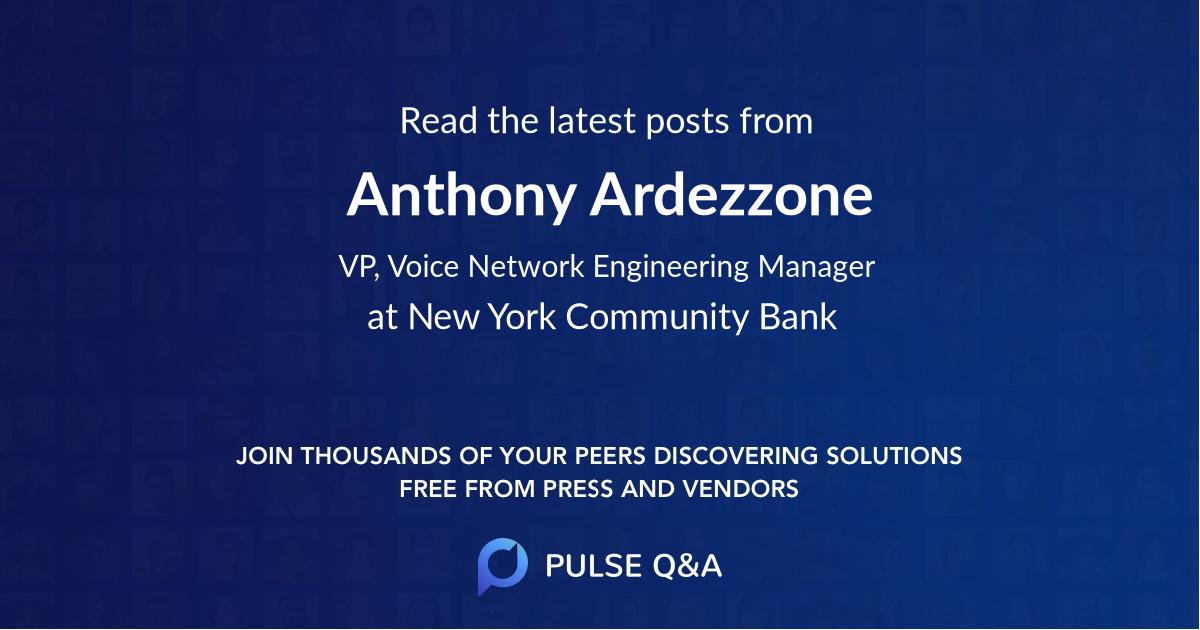 Anthony Ardezzone