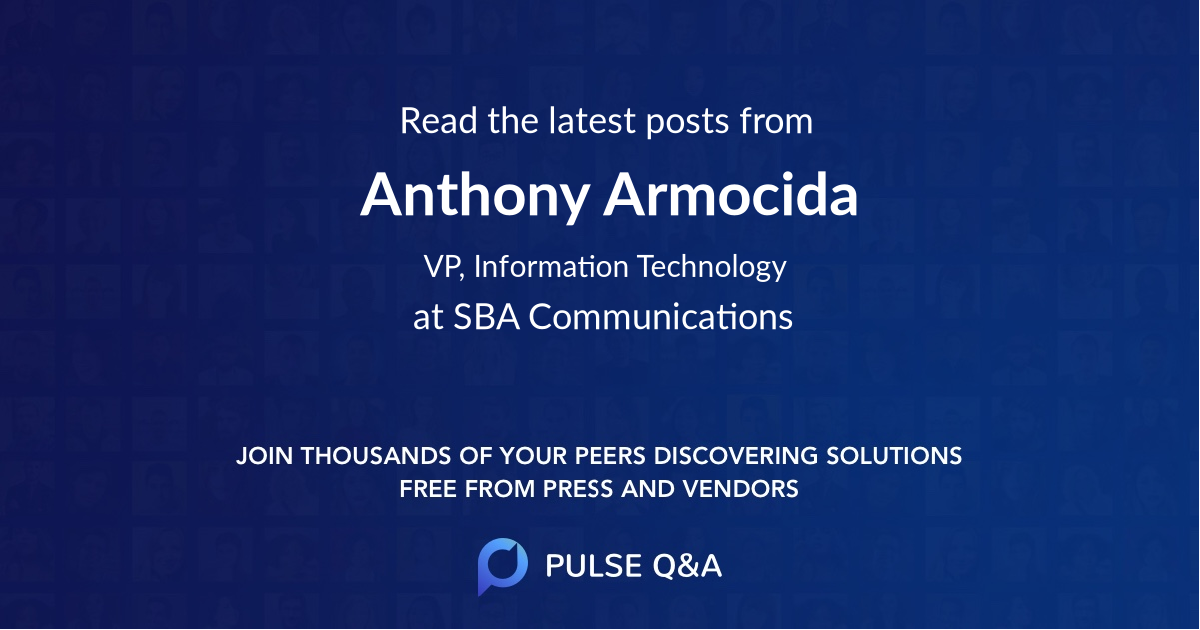 Anthony Armocida