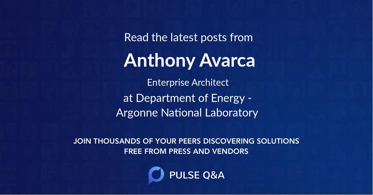Anthony Avarca