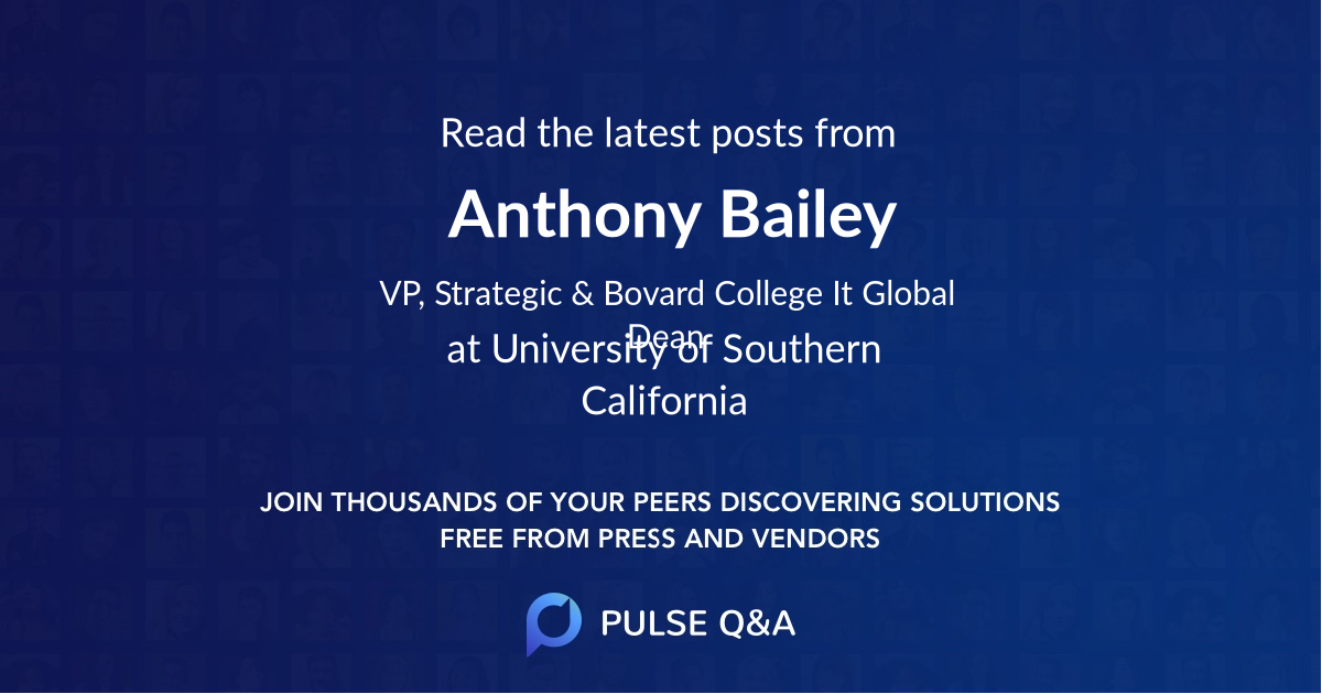Anthony Bailey