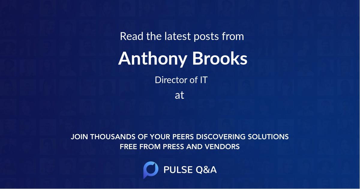 Anthony Brooks