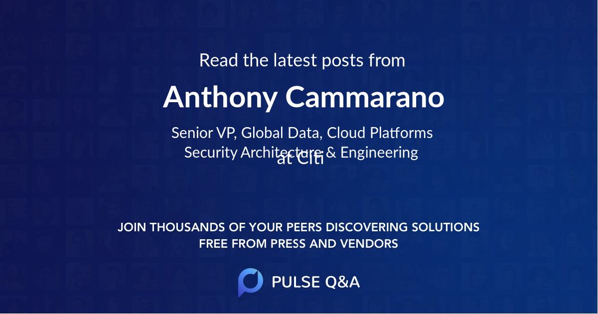 Anthony Cammarano