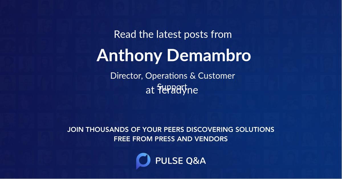 Anthony Demambro