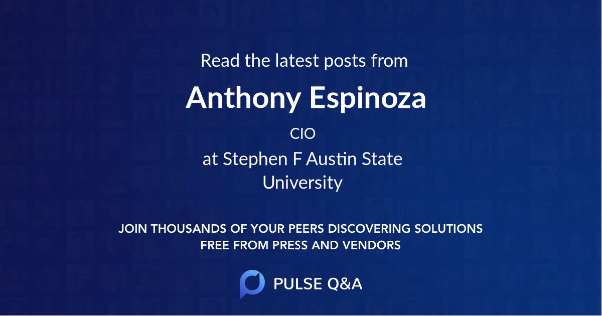 Anthony Espinoza