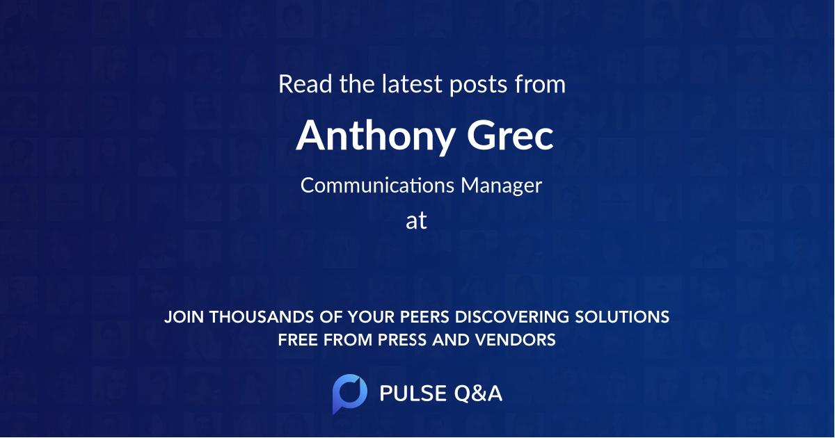 Anthony Grec
