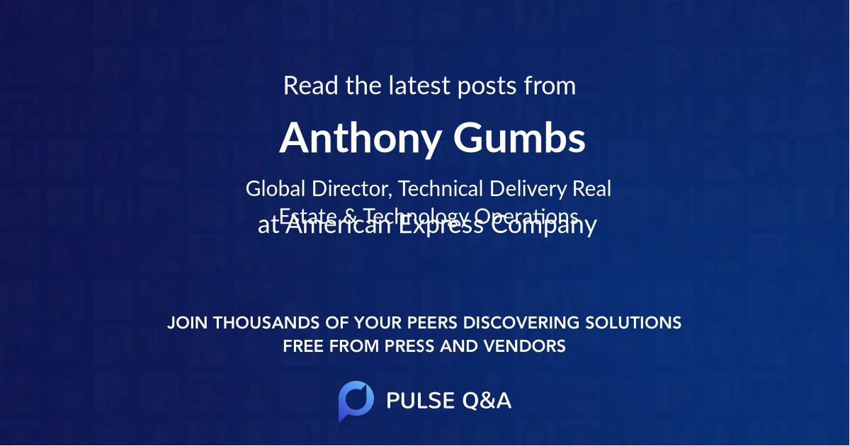 Anthony Gumbs
