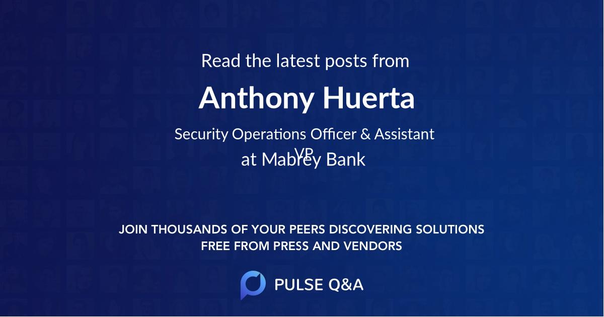 Anthony Huerta