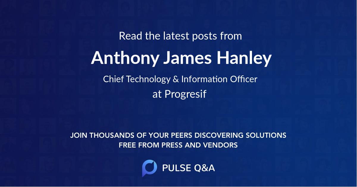 Anthony James Hanley
