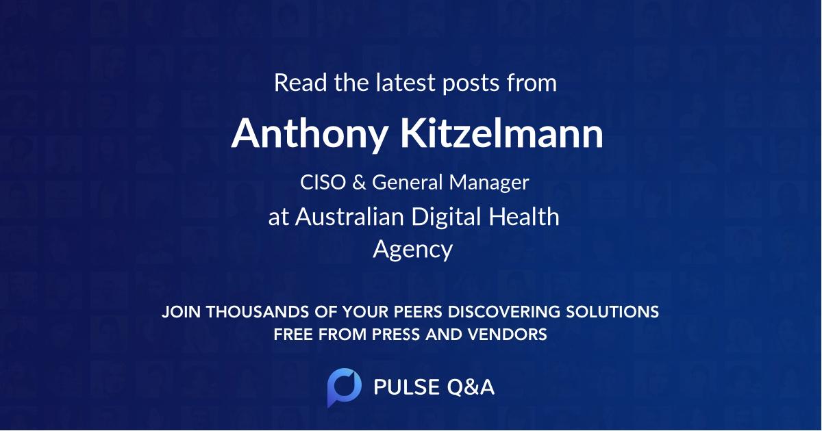 Anthony Kitzelmann