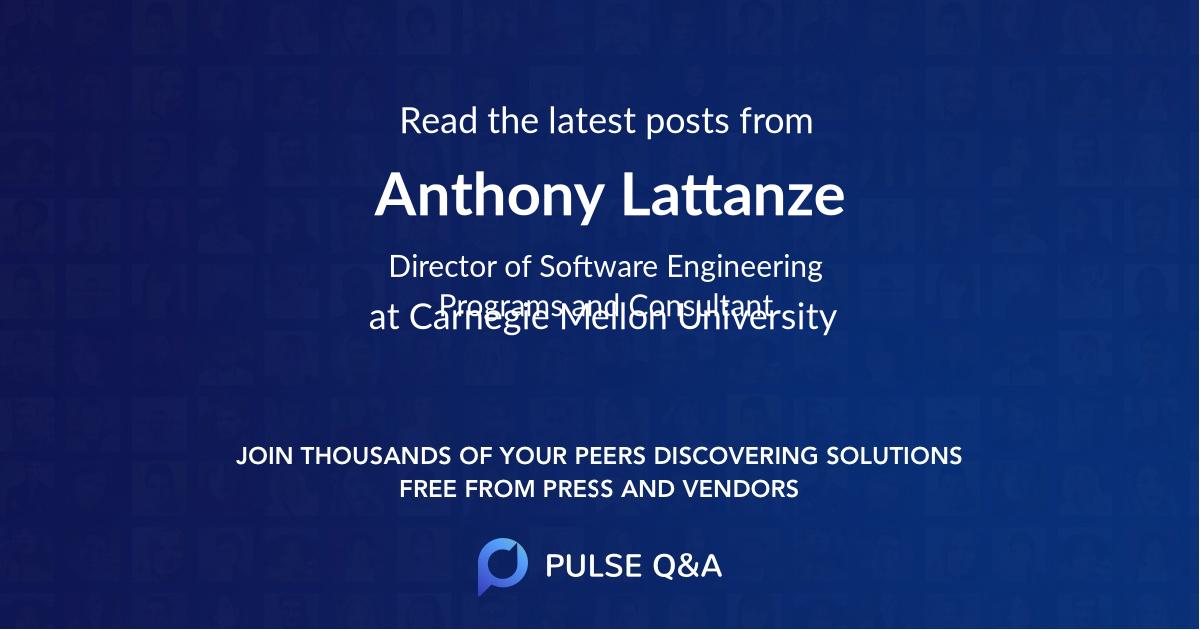 Anthony Lattanze