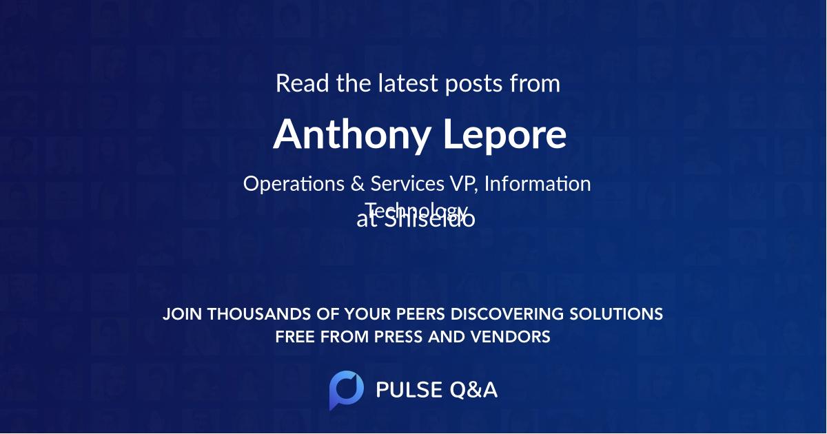 Anthony Lepore
