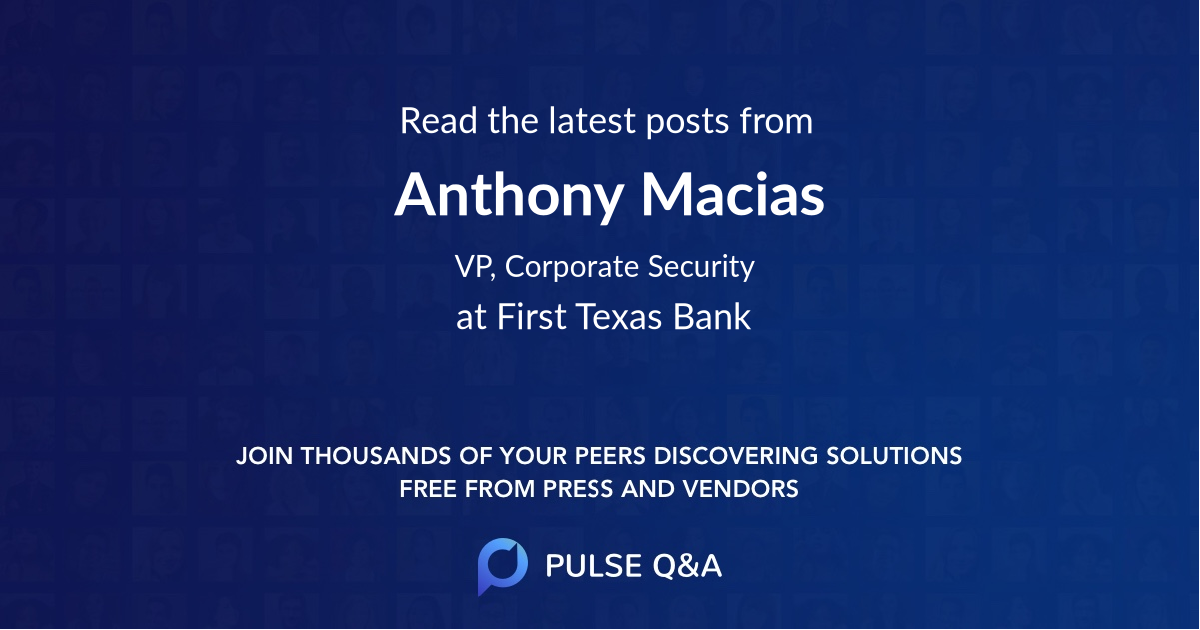 Anthony Macias