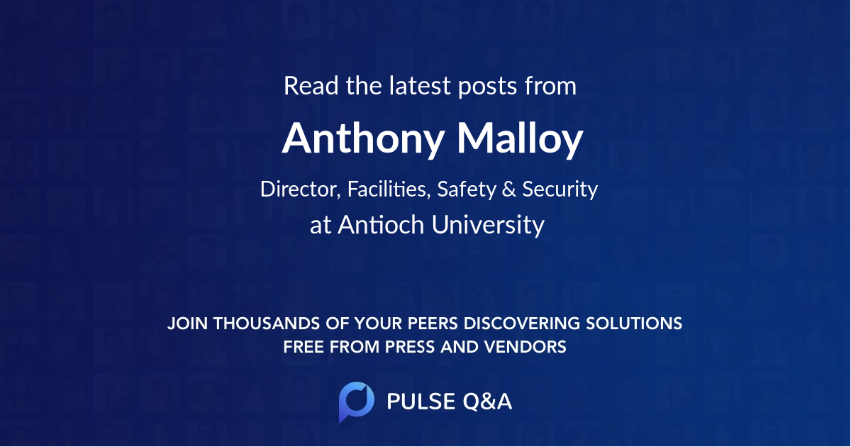 Anthony Malloy