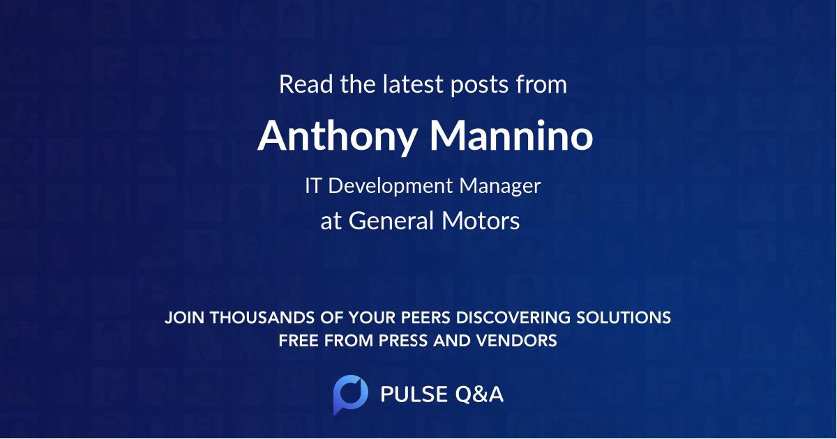 Anthony Mannino