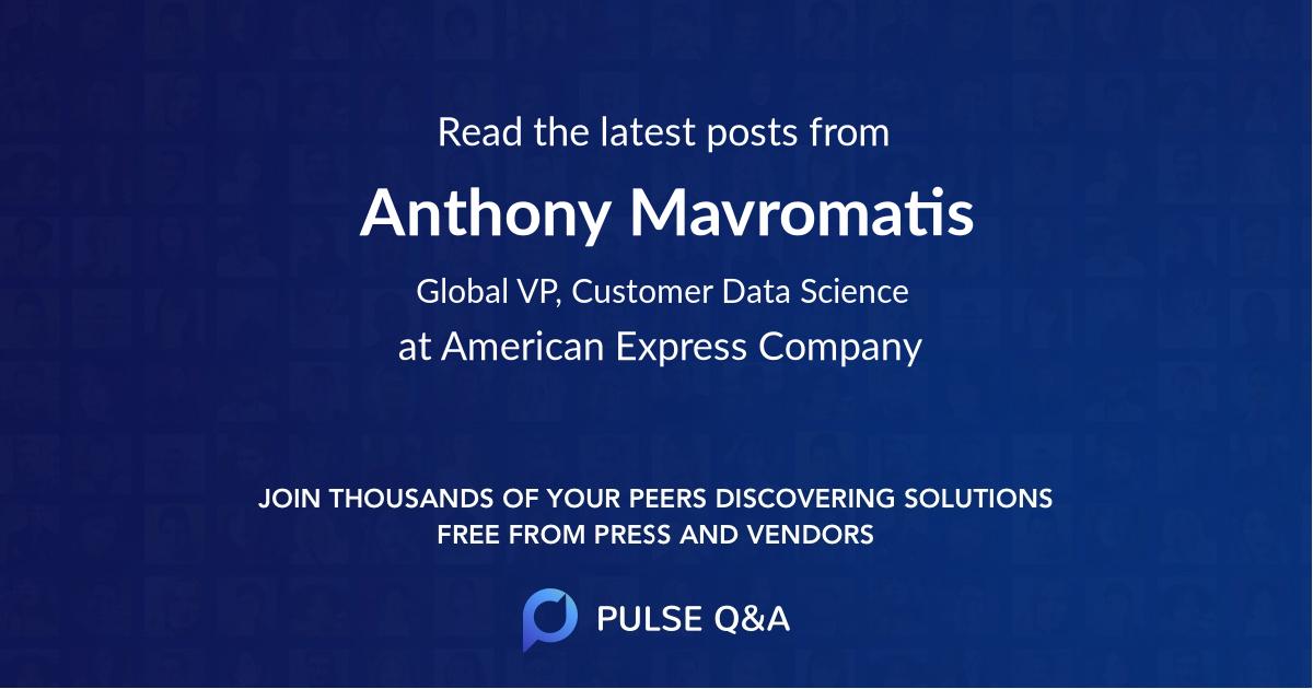 Anthony Mavromatis