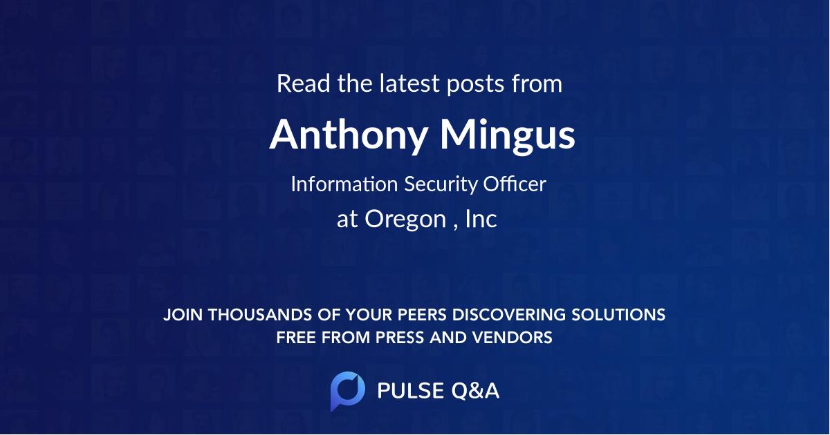 Anthony Mingus