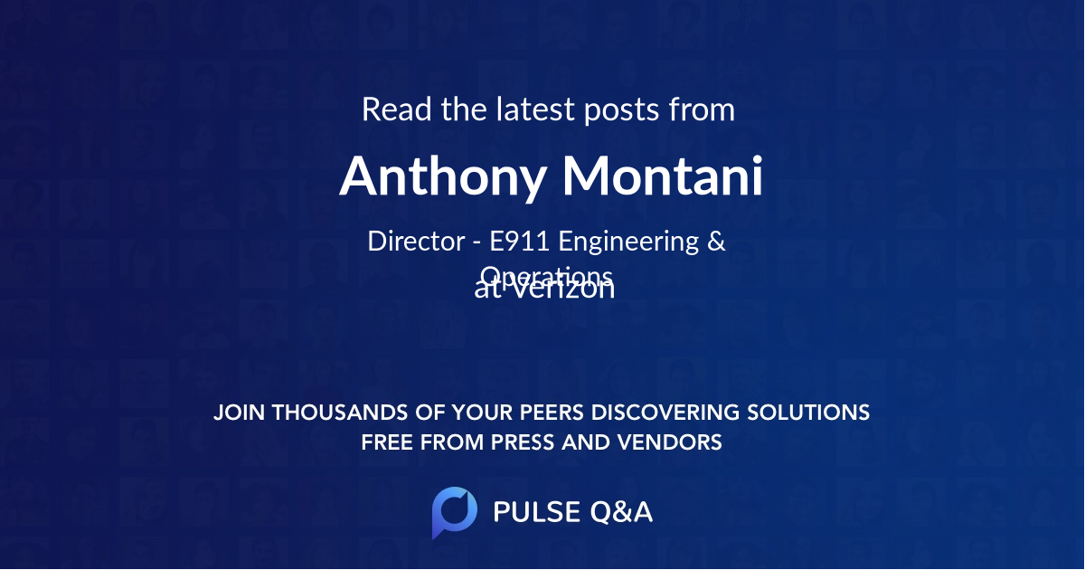 Anthony Montani