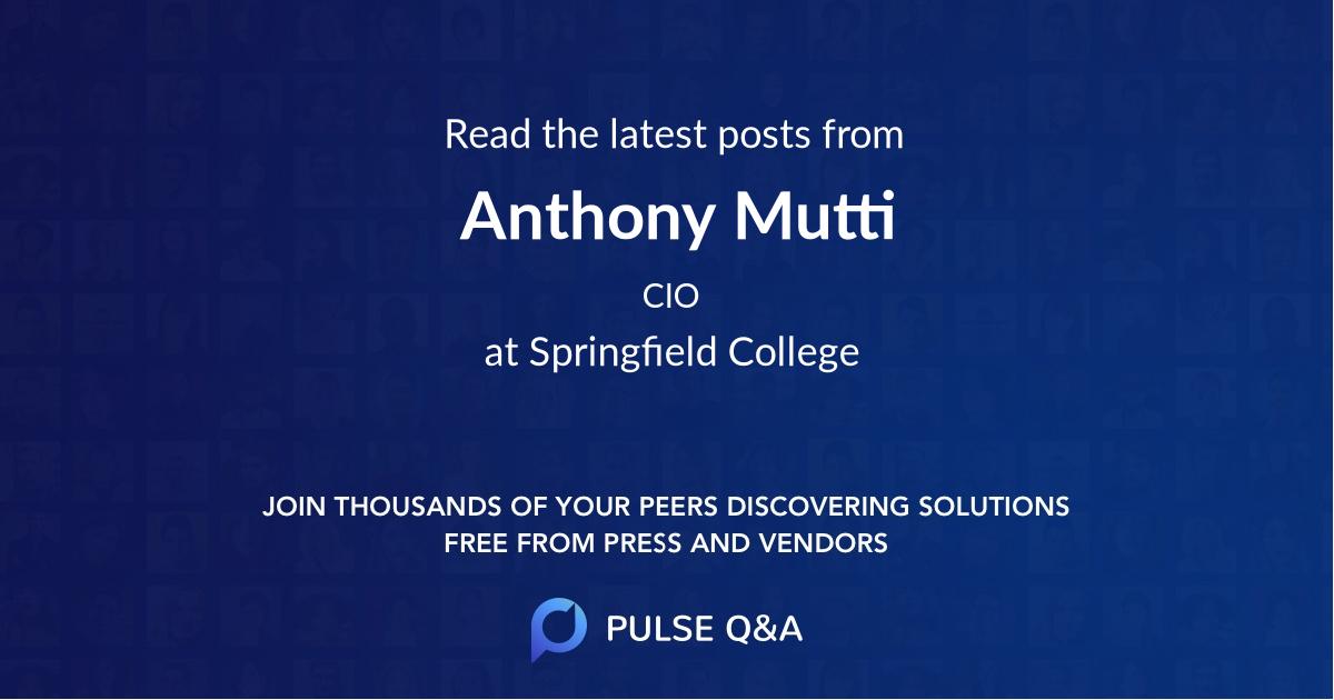 Anthony Mutti
