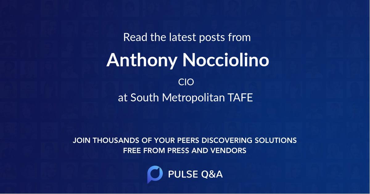 Anthony Nocciolino
