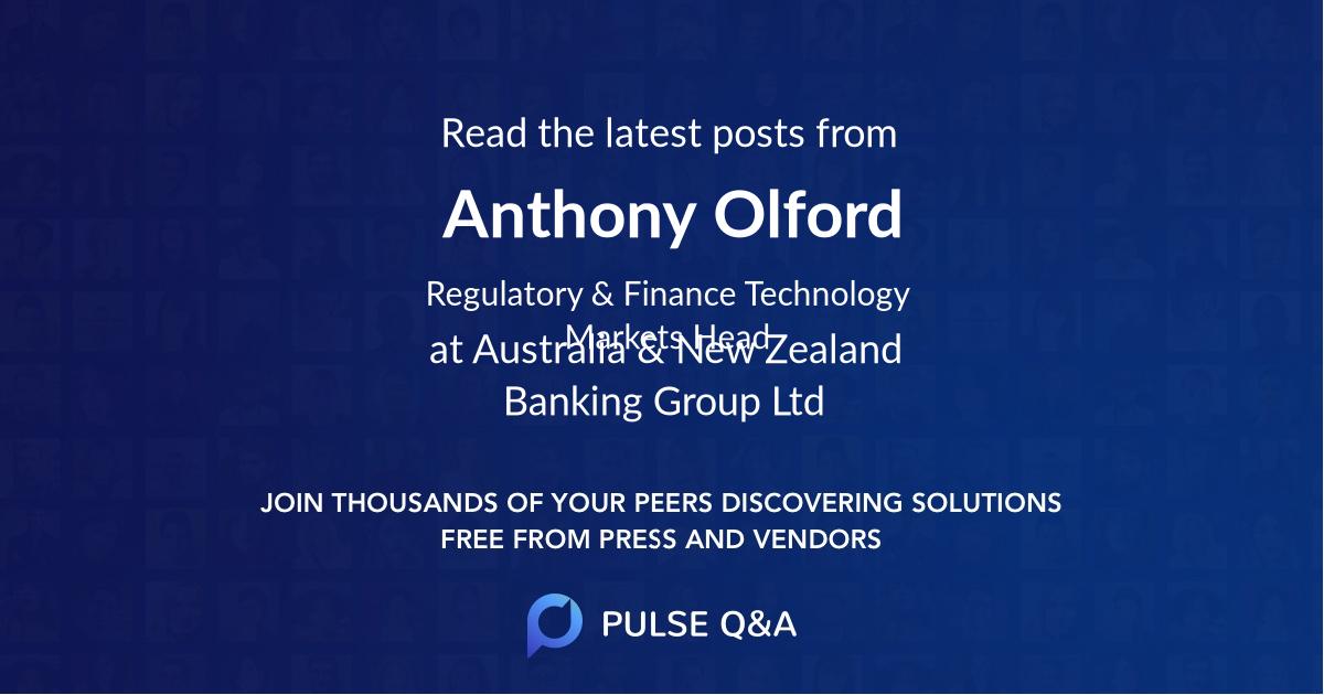 Anthony Olford
