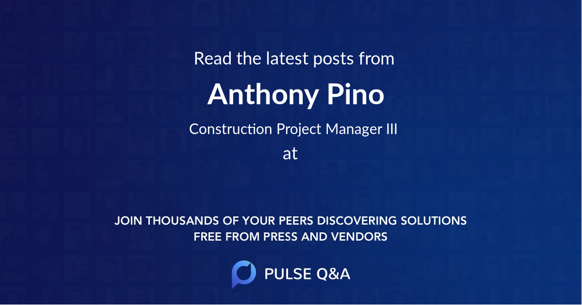 Anthony Pino