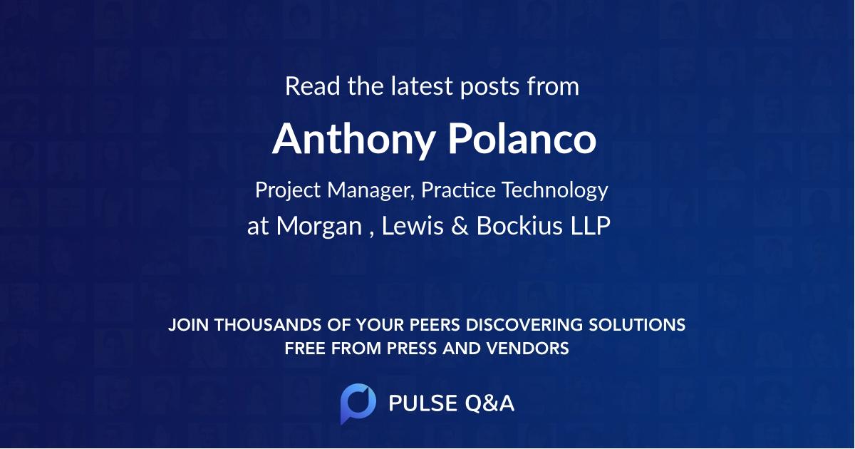 Anthony Polanco