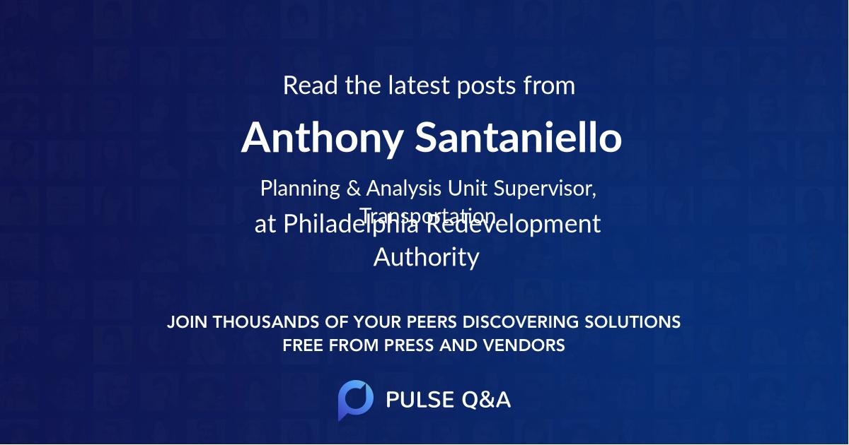 Anthony Santaniello
