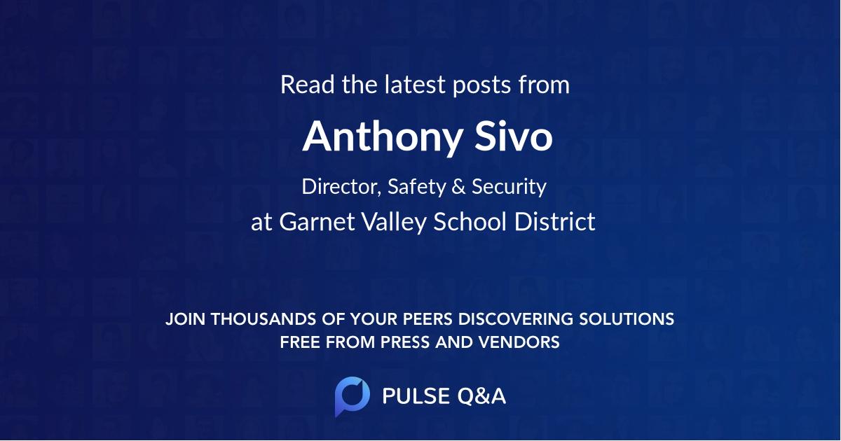 Anthony Sivo