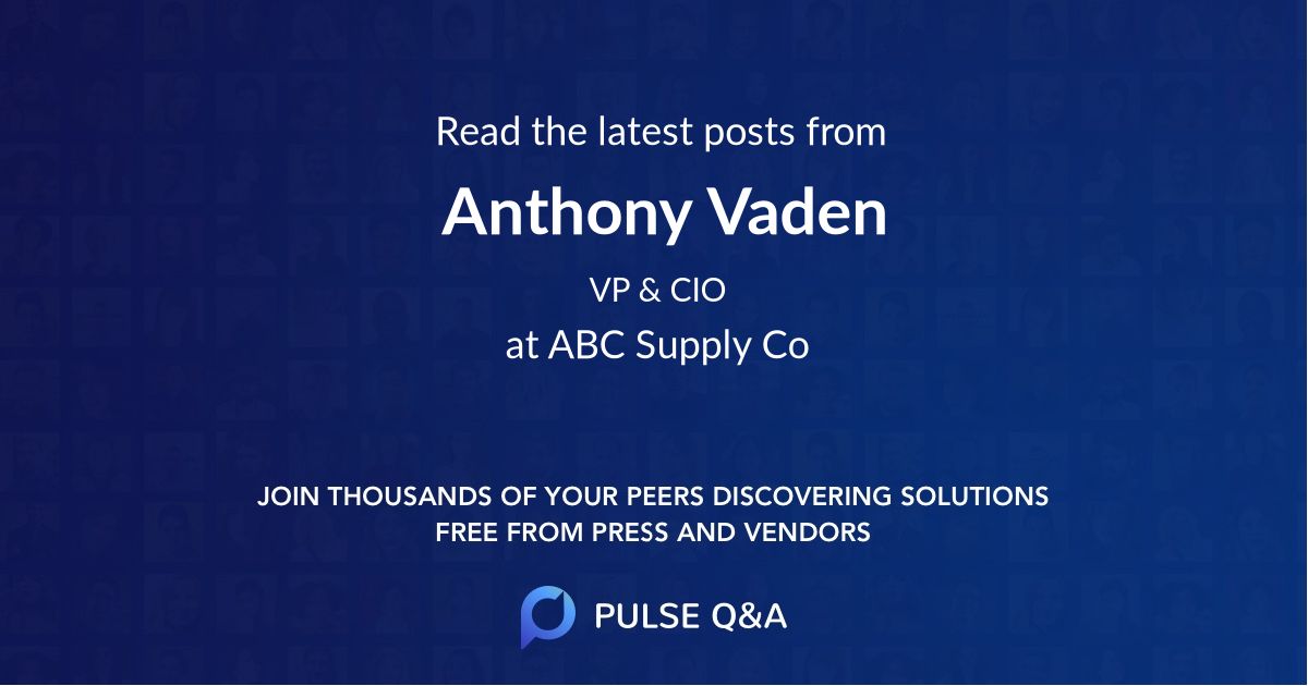 Anthony Vaden