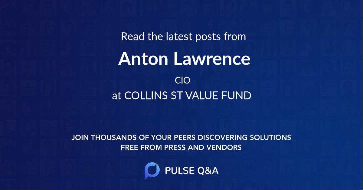 Anton Lawrence