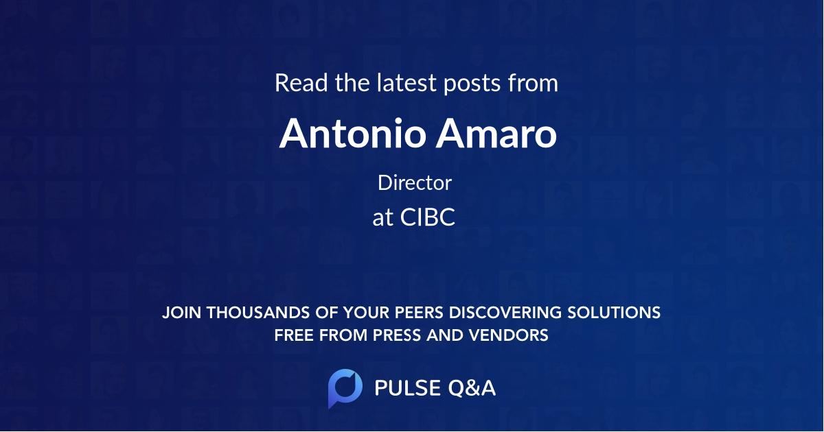 Antonio Amaro