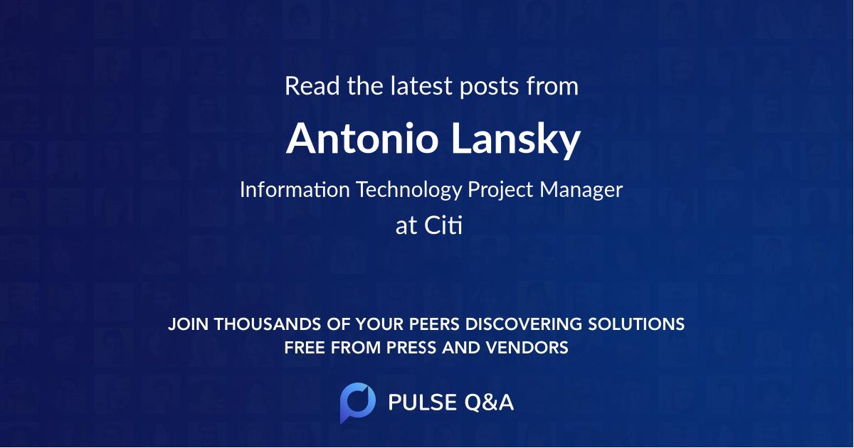 Antonio Lansky