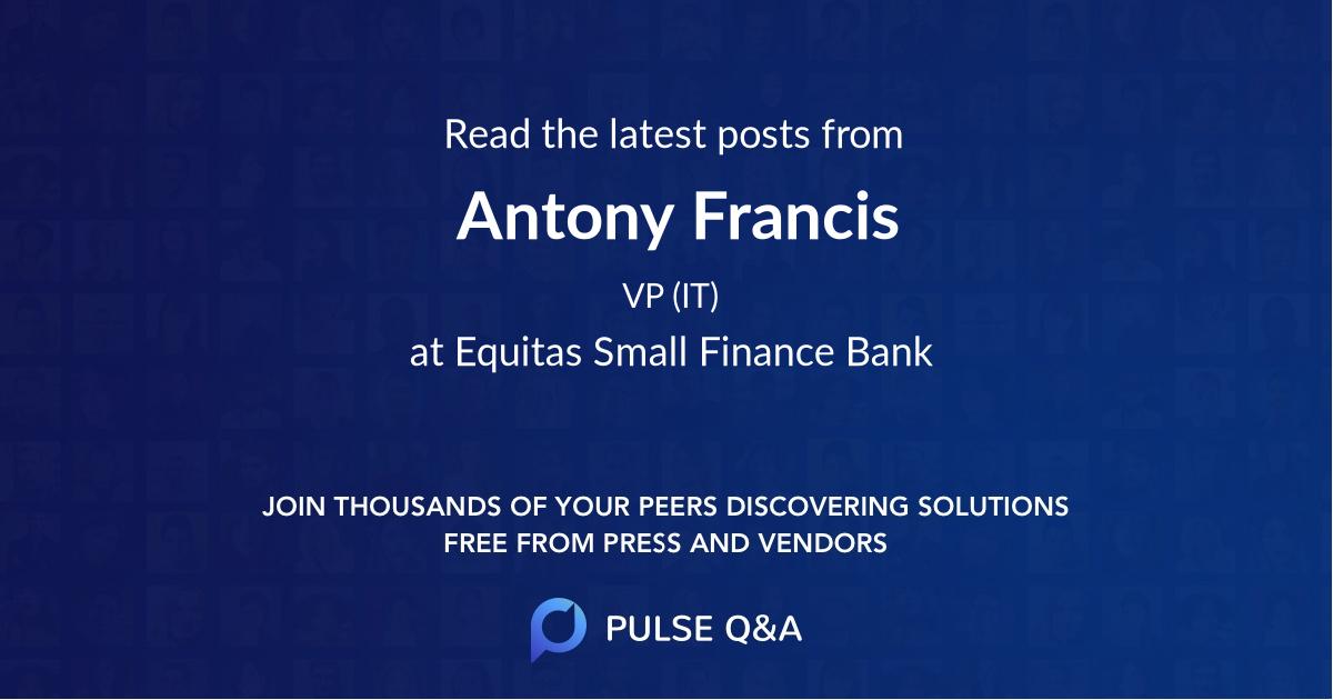 Antony Francis