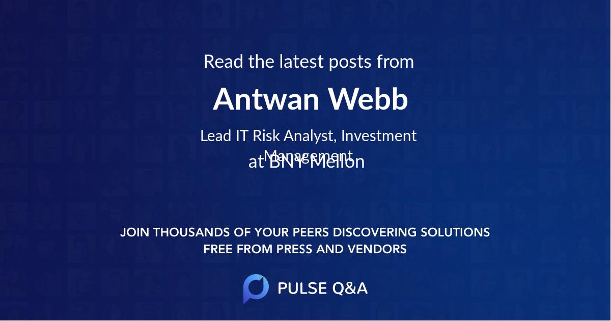 Antwan Webb