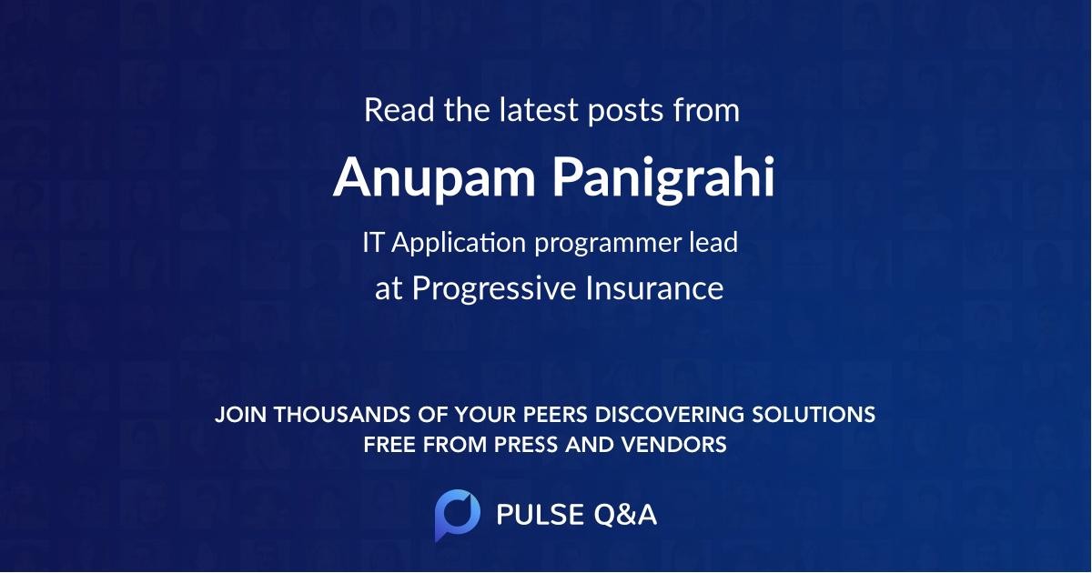 Anupam Panigrahi