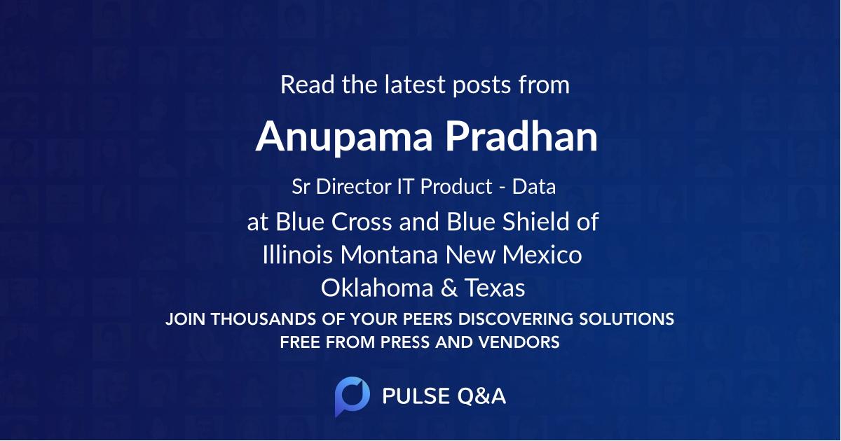 Anupama Pradhan