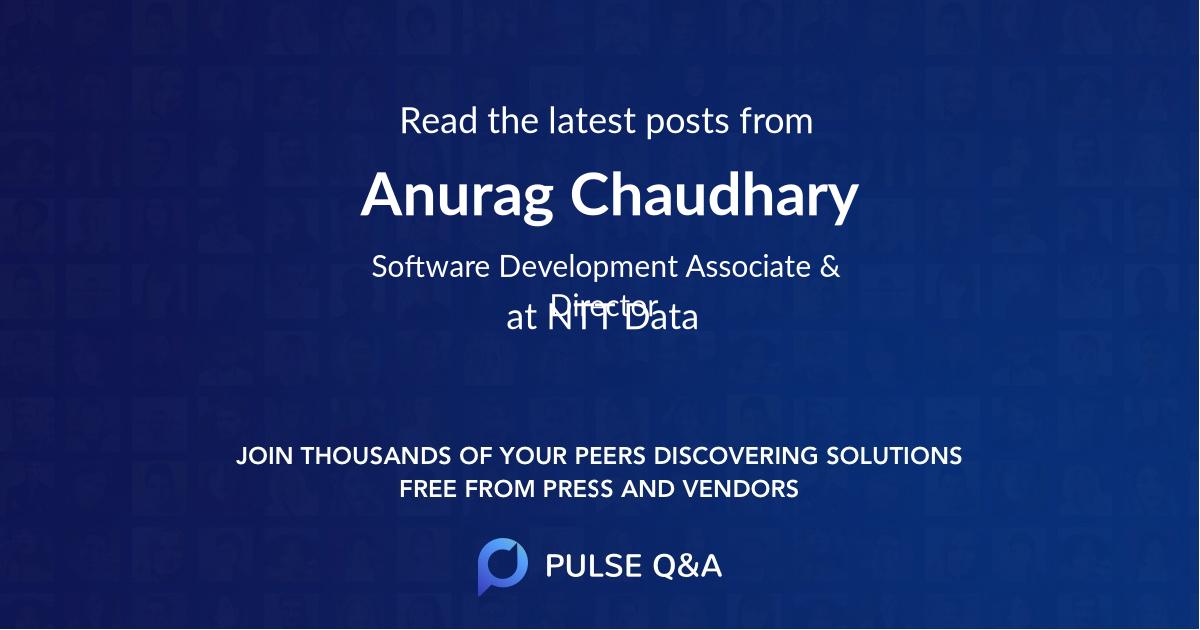 Anurag Chaudhary