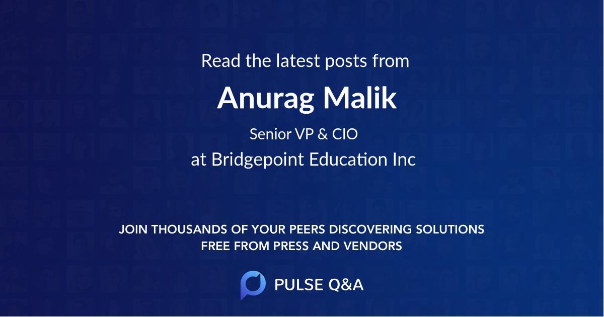 Anurag Malik
