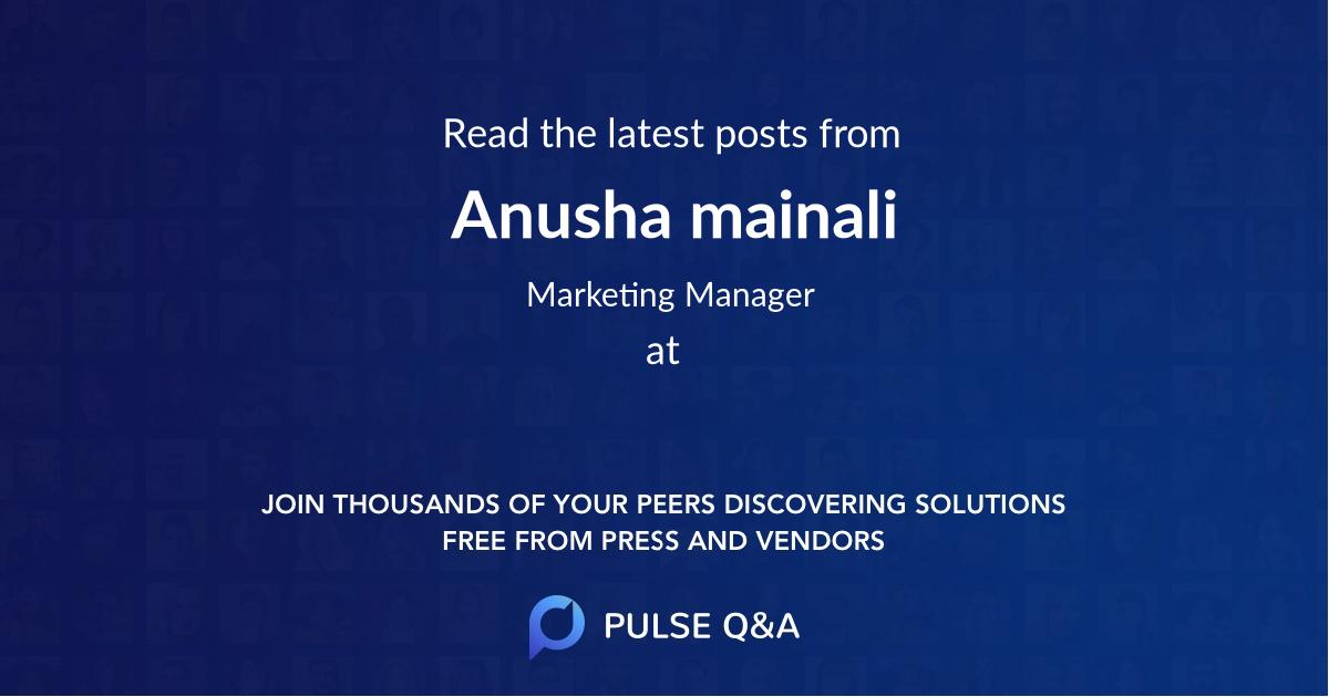 Anusha mainali