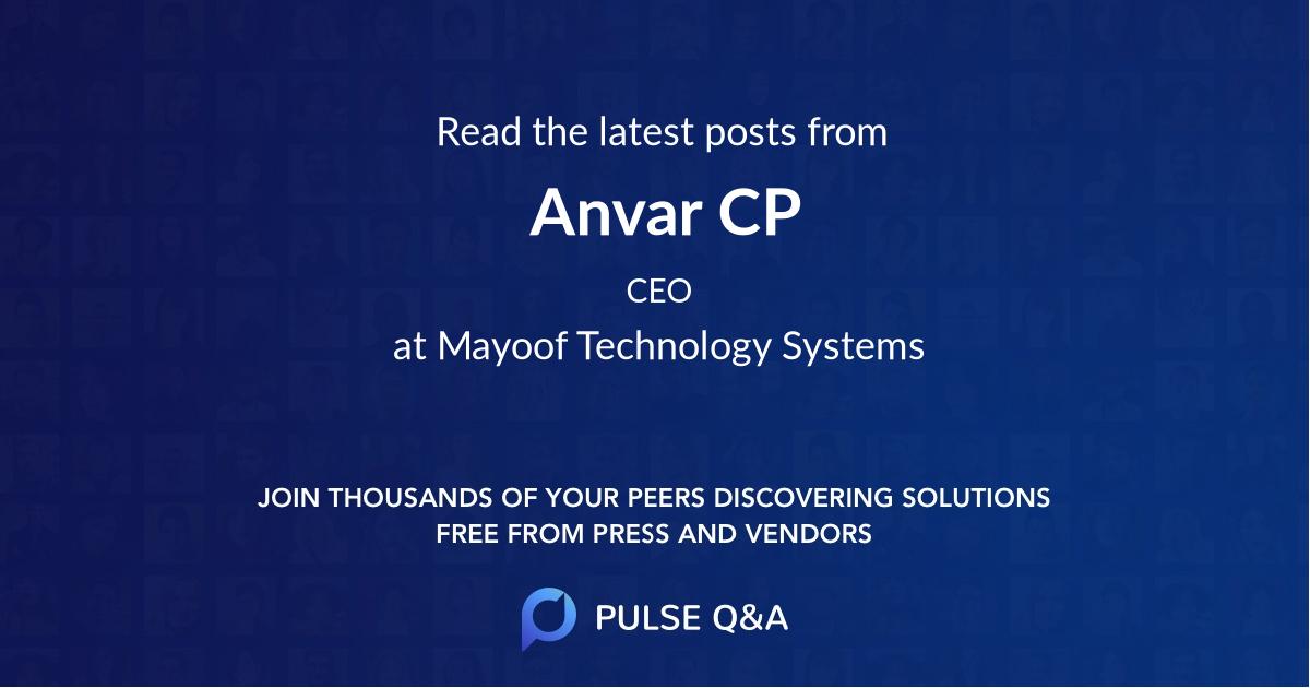 Anvar CP