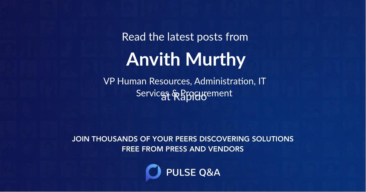 Anvith Murthy