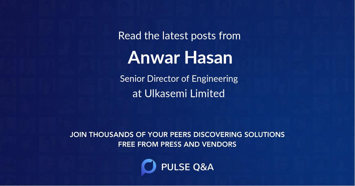 Anwar Hasan