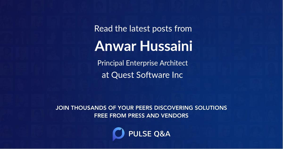 Anwar Hussaini