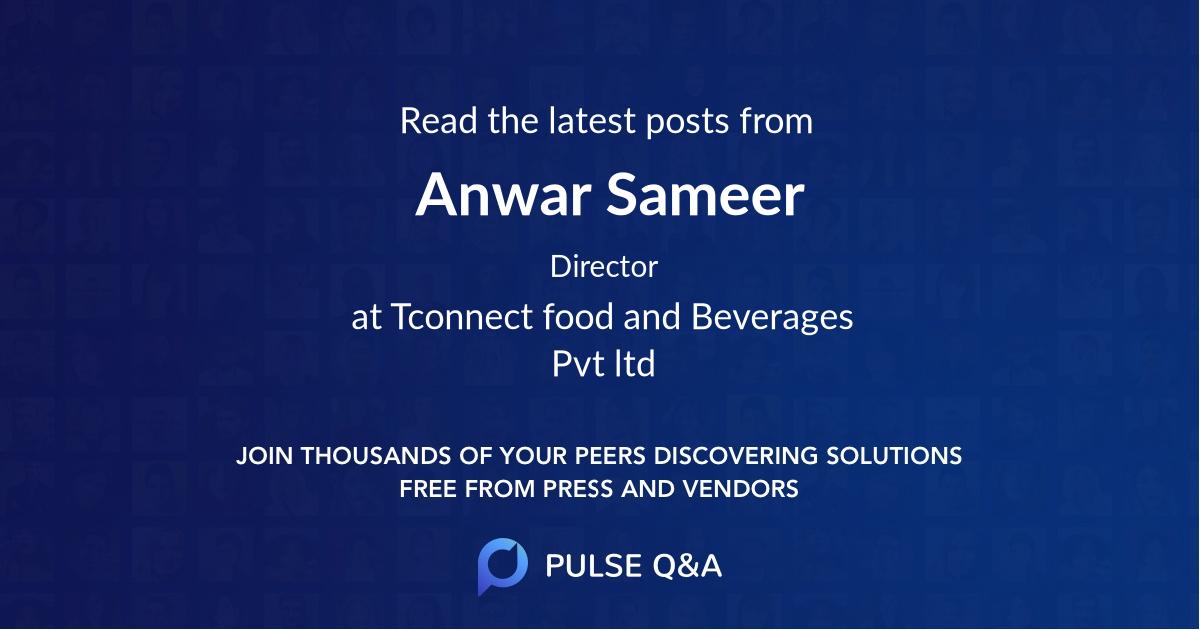 Anwar Sameer
